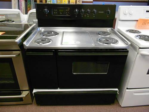Frigidaire 40 Quot Electric Coil Range W Side Oven Used