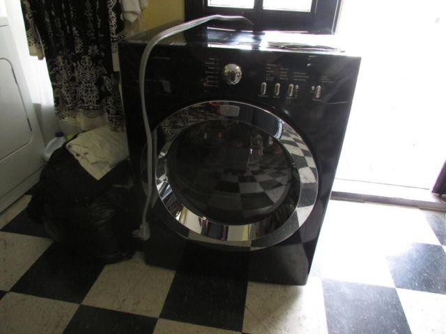 frigidaire affinity front load washer. Frigidaire Affinity Front Load Black \u0026 Silver Washer T