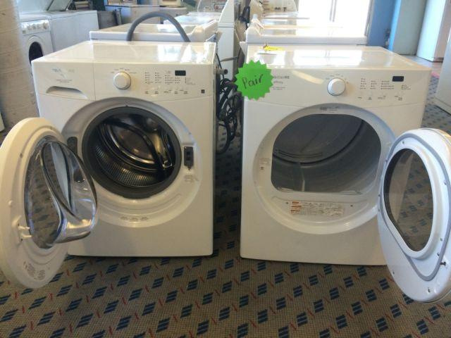Frigidaire Affinity Front Load Washer Amp Dryer Pair Used