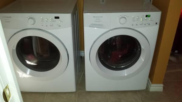 Frigidaire Affinity Front Loader Washer Amp Electric Dryer