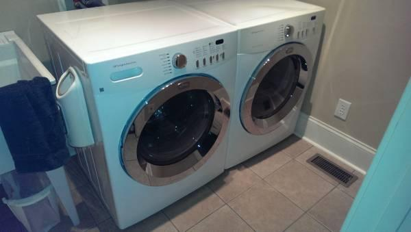 frigidaire affinity he front load washerdryer set - Frigidaire Affinity Dryer