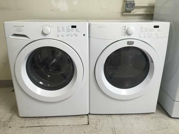 frigidaire affinity washer u0026 electric dryer delivery