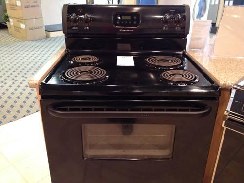 Frigidaire Black Electric Range Stove Oven Used For Sale