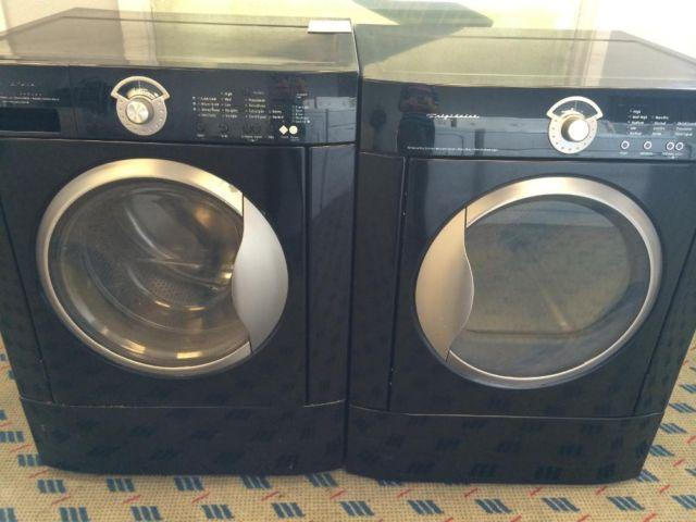 Frigidaire Black Front Load Washer Amp Dryer Set Pair Used For Sale In Tacoma