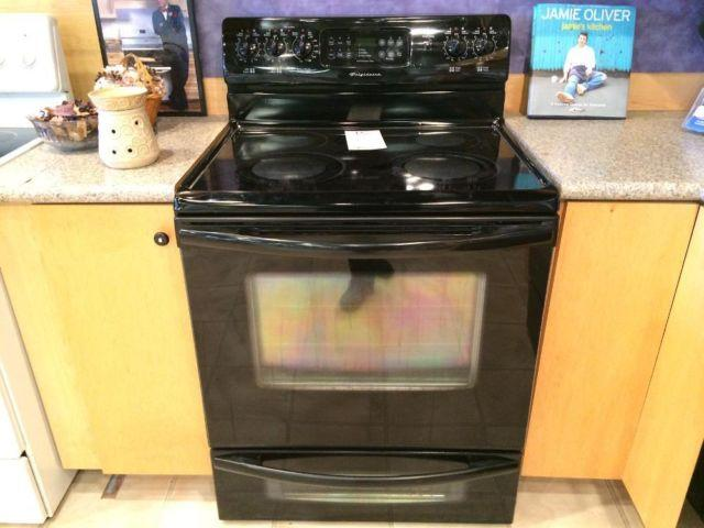 Frigidaire Black Smooth Top Range Stove Oven Used For