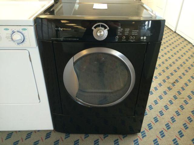 Frigidaire Front Load Black Clothes Dryer Used For Sale