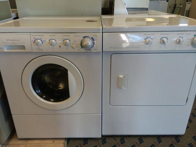 Frigidaire Front Load Washer Amp Dryer Set Pair Used For