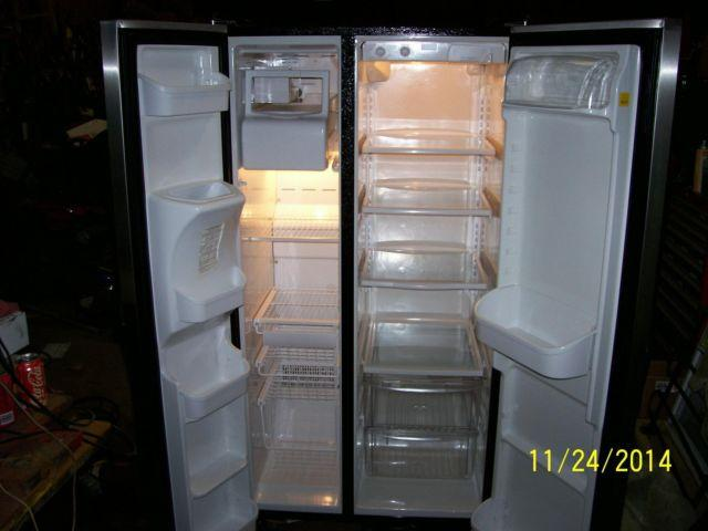 Frigidaire Frost Black Side By Side