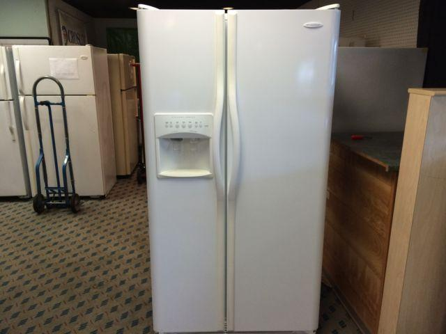Frigidaire Gallery Series White Side By Side Refrigerator