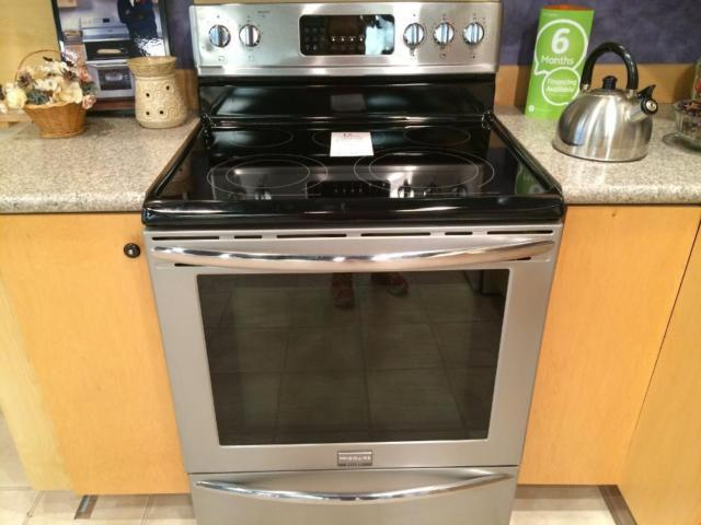 frigidaire gallery stainless convection glass top range - Frigidaire Gallery Stove