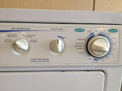 Frigidaire Dryer September 2016