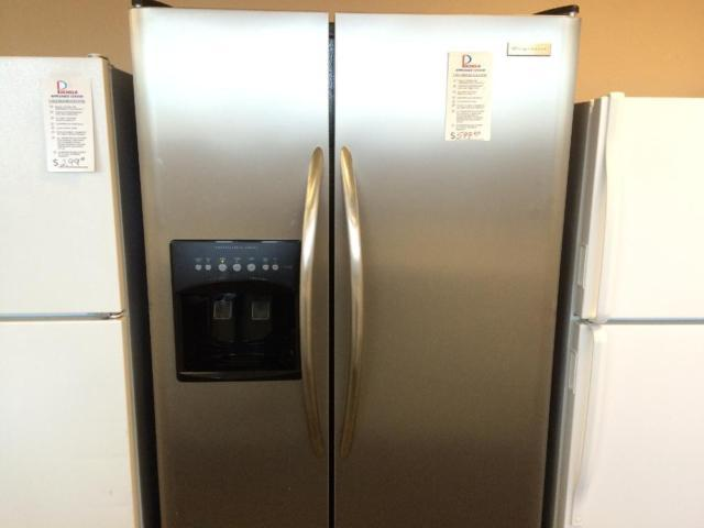 Frigidaire Pro Series Stainless Side By Side Refrigerator