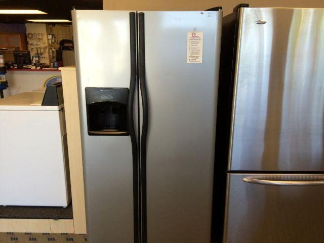 Frigidaire Stainless Side By Side Refrigerator Freezer