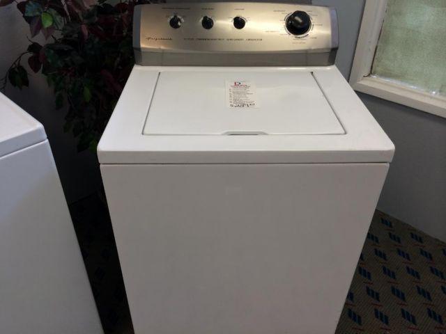 frigidaire top load washing machine