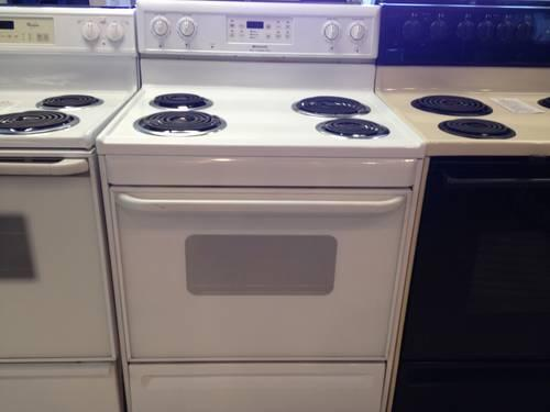 Frigidaire White Electric Range Stove Oven Used For Sale