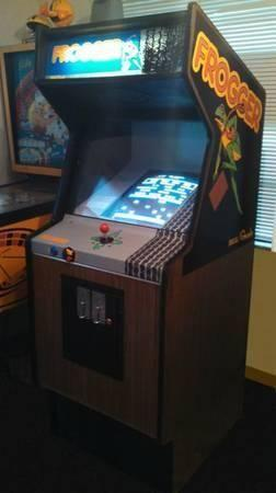 Frogger Arcade Machine With Multiple Games For Sale In