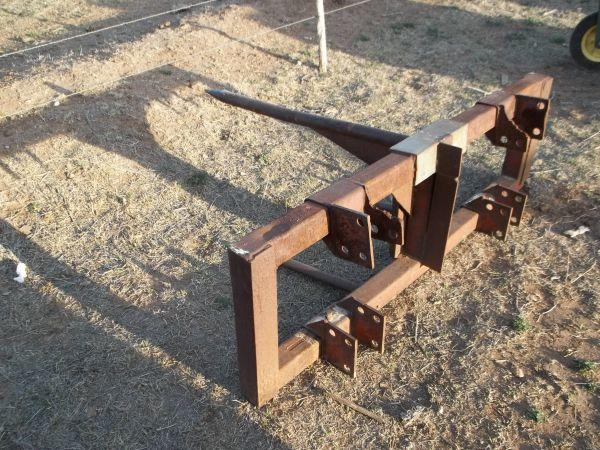 Front End Loader Hay Spear Wolfforth For Sale In