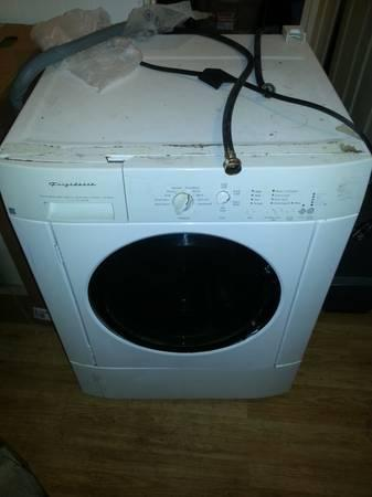 front load washer and dryer for sale. - $50