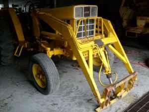 FRONT LOADER FOR TRACTOR - $1250 (AMERICUS)