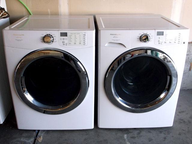 Front Loading X Large Capacity Washer Amp Dryer Set