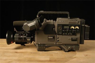 FS.Broadcasting Camera Sony 3ccd studio ampex CVC-7
