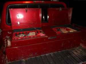fuel tank tool box combo 45 gallon capacity - $250 salina