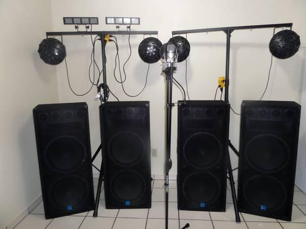 FULL DJ PACKAGE - $4000