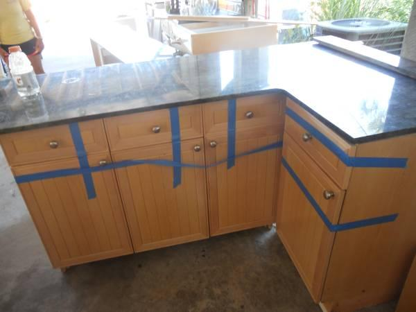 Full Kitchen cabinetry - $2950