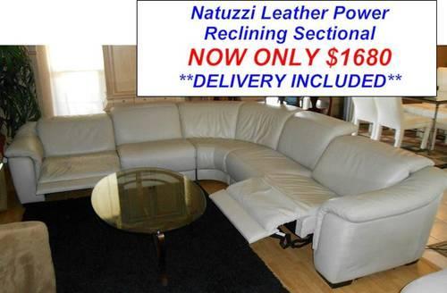 Natuzzi Leather Sectional Classifieds   Buy U0026 Sell Natuzzi Leather Sectional  Across The USA   AmericanListed