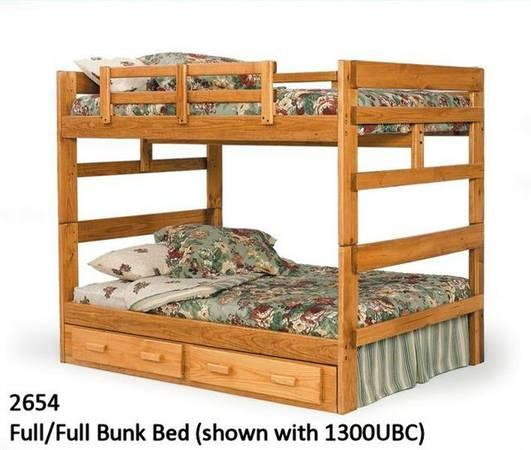 full over full bunk bed for sale in richmond indiana classified. Black Bedroom Furniture Sets. Home Design Ideas