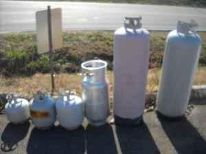 Full propane tanks lp, lpg (northern mcminn co)