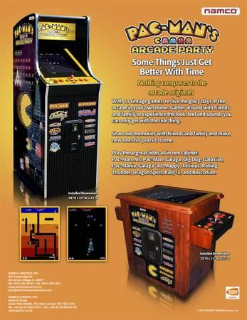 Full Size Arcade Game *New - $3000