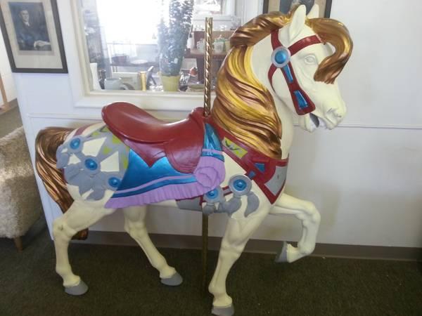 Full Size Carousel Horse By Philadelphia Toboggan Company