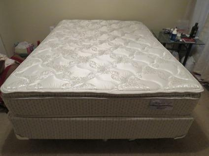 Full size mattress with accessories