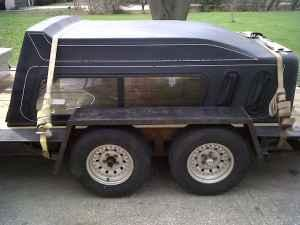 full size short box chevy topper - $200 (holland)
