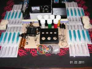 Full TATTOO KIT With ALL The Accessories - for Sale in Martinsburg ...