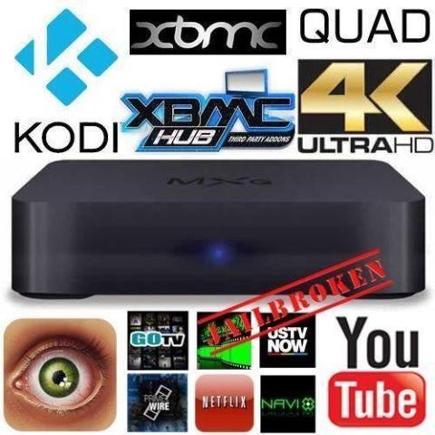Fully Loaded HD Android TV box unlocked with Kodi 16.1