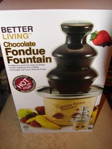 Fun Stokes chocolate fondue Fountain. Sale