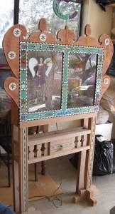 Funky shadow box - $55 (prescott)