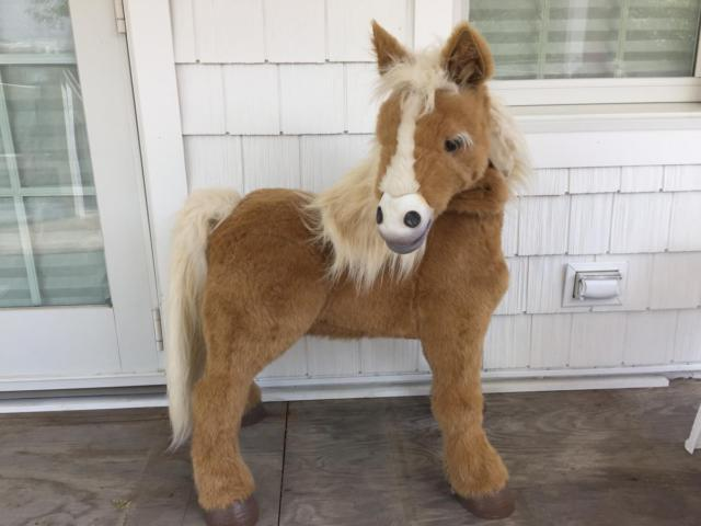 Fur Real Friends Hasbro Butterscotch Pony For Sale In