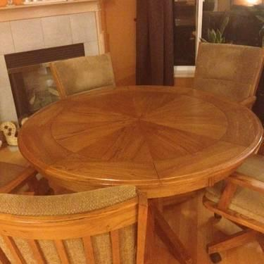 Furniture Sale Including This 5pc Dining Table Set Dirty