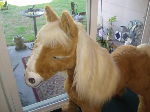 FURREAL FRIENDS BUTTERSCOTCH INTERACTIVE PONY 3 FT TALL