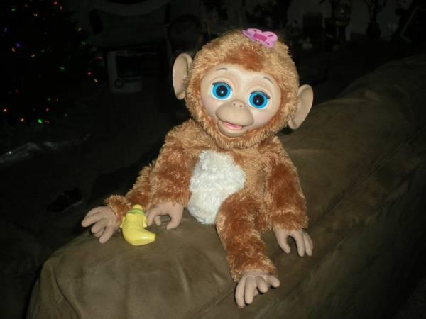 Furreal Friends Cuddles My Giggly Monkey Pet For Sale In