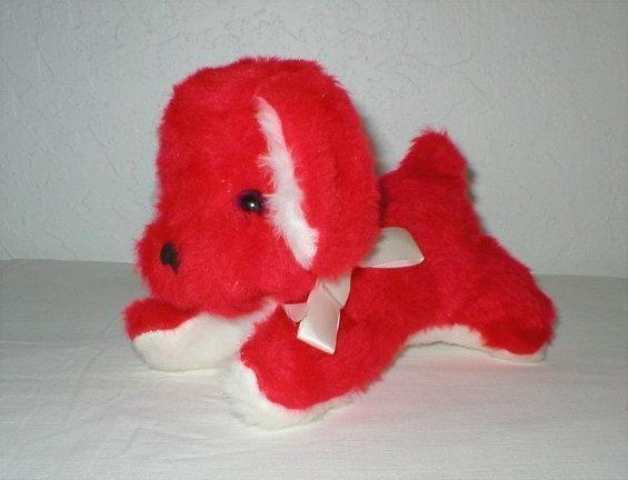 Furry Red Dog - Rushton Company, Atlanta, GA. - 1970's