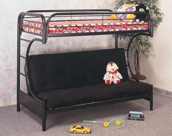 futon bunk bed black good condition twin futon mattress included spillville iowa for. Black Bedroom Furniture Sets. Home Design Ideas