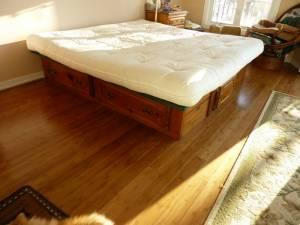 Futon Mattress King Size Deerwood