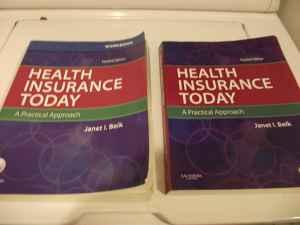 FVTC Health Insurance Today book and workbook - (Appleton