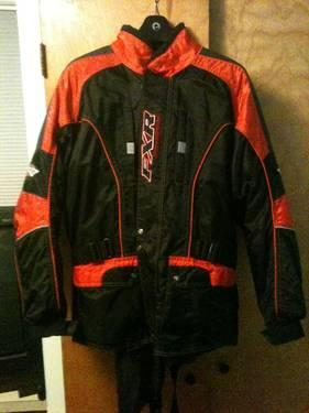 FXR SNOWMOBILE BIB JACKET COMBINATION SIZE MM/ LARGE