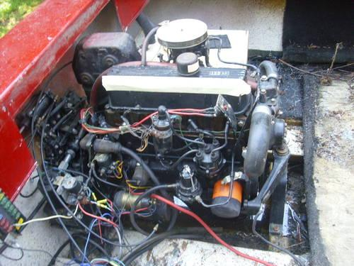 G M 120 HP INBOARD ENGINE MOTOR OUTDRIVE MERCRUISER for Sale in Chambersburg, Pennsylvania ...