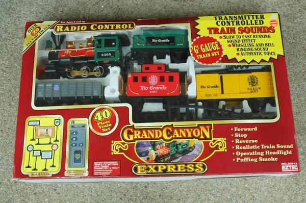 G Scale Eztec Battery Operated Toy Train - $75
